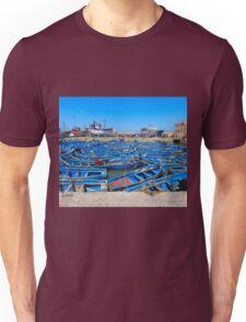 little blue boats Unisex T-Shirt