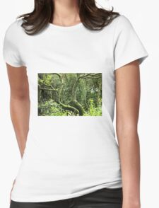 Twisted tree Womens Fitted T-Shirt