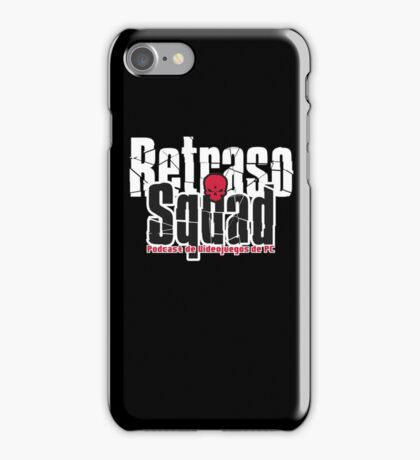 Retraso Squad Podcast iPhone Case/Skin