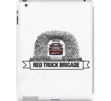 Red Truck Brigade #FeedTheArch iPad Case/Skin