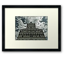 Cathedral Lucca Framed Print