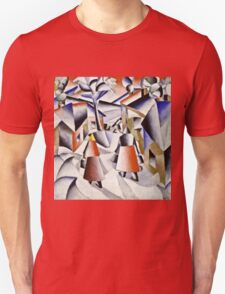 Kazimir Malevich - Morning In The Village After Snowstorm  Unisex T-Shirt