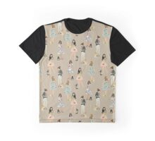 Girls and their chihuahuas 2 Graphic T-Shirt
