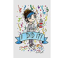 I did it! Watercolor Painting Photographic Print