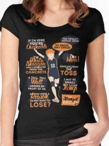 The Strongest Decoy Quotes Women's Fitted Scoop T-Shirt