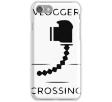 Vlogger Crossing iPhone Case/Skin