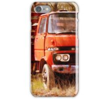 old rusty small truck iPhone Case/Skin