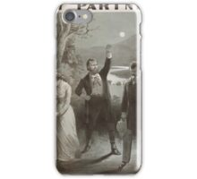 Performing Arts Posters Bartley Campbells powerful American play My partner with Louis Aldrich CT Parsloe 0628 iPhone Case/Skin