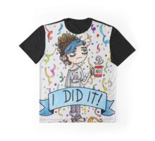 I did it! Watercolor Painting Graphic T-Shirt
