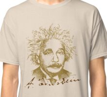 Albert Einstein visionary in modern physics Classic T-Shirt