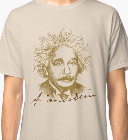 Albert Einstein visionary in modern physics Classic T-Shirt
