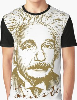 Albert Einstein visionary in modern physics Graphic T-Shirt