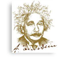 Albert Einstein visionary in modern physics Canvas Print