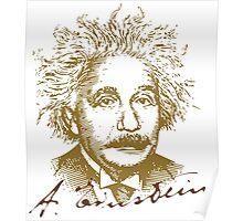 Albert Einstein visionary in modern physics Poster