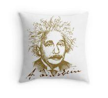 Albert Einstein visionary in modern physics Throw Pillow