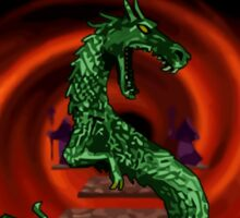 Mortal Kombat Dragon Sticker