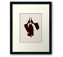 A Coat Of Gold, A Coat Of Red Framed Print