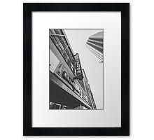 Cleveland - House of Blues Sign Framed Print