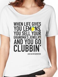 Jean-Ralphio Saperstein Quote T-Shirt (Parks and Rec) Women's Relaxed Fit T-Shirt