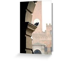 Resting, Siena Greeting Card