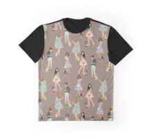 Girls and their chihuahuas 3 Graphic T-Shirt