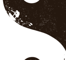 yin yang surfer 2 Sticker