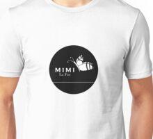 Mimi La Fae Logo,Round, Black Unisex T-Shirt