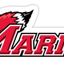 Marist Swimming and Diving Sticker