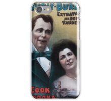 Performing Arts Posters Hurly Burly Extravaganza and Refined Vaudeville 0342 iPhone Case/Skin