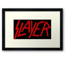 Slayer Framed Print