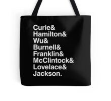 Amazing women of science Tote Bag