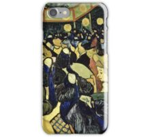 Vincent Van Gogh -  Dance Hall In Arles, 1888  iPhone Case/Skin