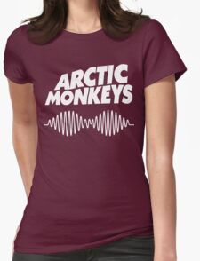 arctic monkeys black band Womens Fitted T-Shirt
