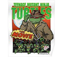 Ninja Turtles Retro First Movie 1990 Raphael Poster