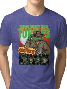 Ninja Turtles Retro First Movie 1990 Raphael Tri-blend T-Shirt