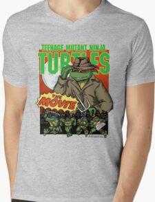 Ninja Turtles Retro First Movie 1990 Raphael Mens V-Neck T-Shirt