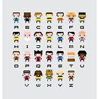 Star Trek Alphabet by Sergei Vozika