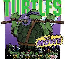 Ninja Turtles Retro First Movie 1990 Donatello by Arseniy Dubakov