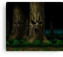 Mortal Kombat Living Forest Canvas Print