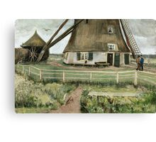 Vincent Van Gogh -  Mill, 1881-82 Canvas Print