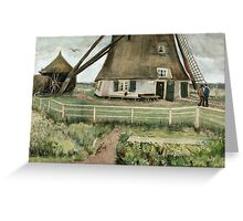 Vincent Van Gogh -  Mill, 1881-82 Greeting Card