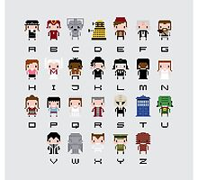 Doctor Who Alphabet by Sergei Vozika