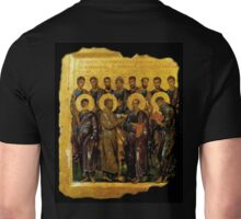 Twelve Disciples, Synaxis, Christianity, Twelve Apostles, Russian, 14th century, Moscow Museum. Unisex T-Shirt