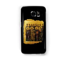 BIBLE, Twelve Disciples, Synaxis, Christianity, Twelve Apostles, Russian, 14th century, Moscow Museum. Samsung Galaxy Case/Skin