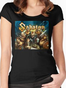SABATON ALBUMS 2 Women's Fitted Scoop T-Shirt