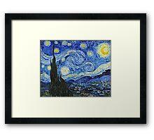 Vincent Van Gogh -  Starry Night 1889  Framed Print
