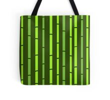Green Bamboo seamless pattern : Asia inspired vintage collection Tote Bag
