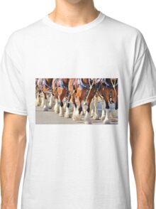 Clydesdale Horses Walking Classic T-Shirt