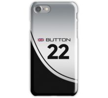 F1 2014 - #22 Button iPhone Case/Skin