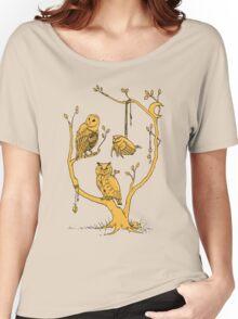 Clockwork Owls Women's Relaxed Fit T-Shirt